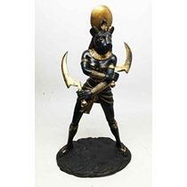Egipcio Diosa Del Sol Sekhmet Solar Deidad 11 Estatua Figur