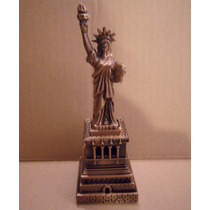 Estatua De La Libertad Cobre 16 Cm !! New York