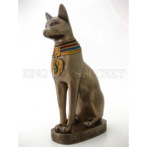 Gato Egipcio Antiguo Dios Bastet Estatua Bast Diety