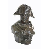 Napoleón Bonarte, Busto Elaborado En Bronce!