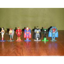 Liga De La Justicia Figuras De Metal Y Plastico