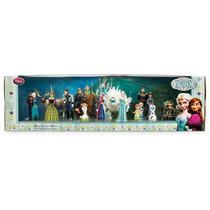 Frozen Mega Set 20 Figuras Colección Completa Disney Store