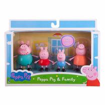 Peppa Pig Familia 4 Pack