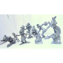Marx Plastimarx Colección 6 Figuras Nutty Mads Serie 2 Vbf