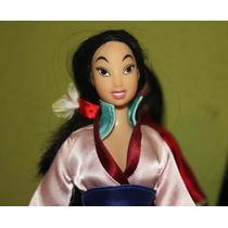 Princesa Mulan Disney Con Kimono De Gala Original