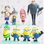 Personajes De Plástico De Mi Villano Favorito