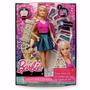 Muñeca Barbie Peinados Brillantes Mattel