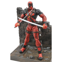 Diamond Select Marvel , Deadpool Action Figure , Importado