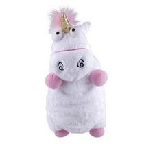 Despicable Me 3d Ride Agnes Fluffy Unicorn Almohada Felpa Gr