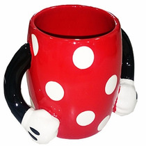 Taza Minnie Mouse Disney Coleccionable De Ceramica