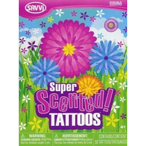 Tatuajes Temporales Aromatizados Con Esencia De Flores