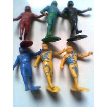 Jugadores De Americano De Plastico Lotes De 3 O 4 Monocromat