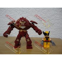 Figura De Iron Man Hulkbuster (avengers 2, Marvel) Tipo Lego