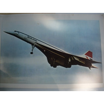 Vintage Concorde Cuadro Decorativo