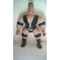 Wwf Wwe The Rock Plush Peluche Vintage 1998.