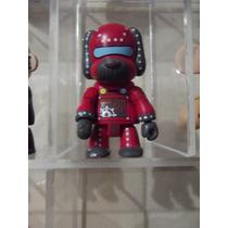 Dr.veneno Perro Robot Rojo