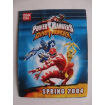 Power Ranger Catalogo