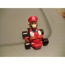 2 Carros Mario Kart Llanta Negra Con Traccion