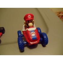 Carro Mario Kart Llanta Azul