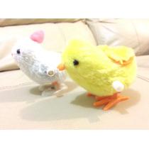 Pollito Y Conejo De Cuerda