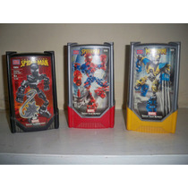 Marvel Super Tech Heroes Spiderman Wolverine Lote 3 Figuras.
