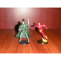 Marvel 2 Figuras Iron Man, Dr. Doom