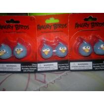Gomas / Borradores Angry Birds En 3 D, Tipo Rompecabezas Mdn