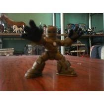 Super Hero Squad Iron Man Primer Armadura Dorada
