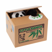 Alcancía Roba Monedas Cerdo Perro Gato Panda Raton