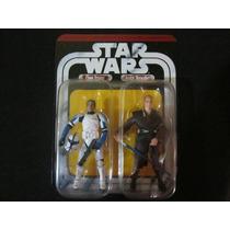 Star Wars Clone Trooper Y Anakin Skywalker 3.75 Pulgadas