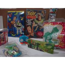 Lote De Juguetes Y Dispensador Toy Story Mc Donal`s Vjr