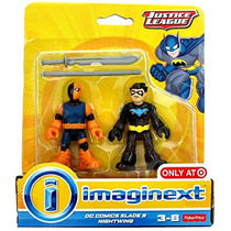 Imaginext, Justice League , Dc Comics Slade & Nightwing