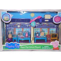 Peppa Pig School House Playset Nueva Escuela Con Campana