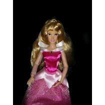 Hermosa Princesa Aurora La Bella Durmiente Articulada Disney