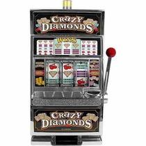 Alcancia Crazy Diamonds Slot Machine Bank