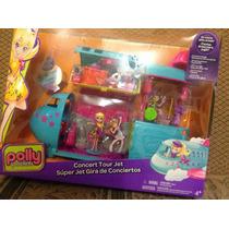 Muñeca Polly Pocket Súper Jet Gira De Conciertos, Mattel .