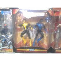 Linterna Amarilla Y Azul Pack Liga D La Justicia Dc Classics