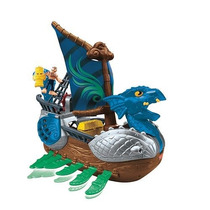 Barco Pirata Serpiente Imaginext Fisher Price