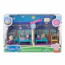 Juguetes De Moda Navidad Escuela Peppa Pig Original