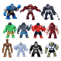 Figuras 75 Mm Hulk Buster Venom Rhino Igor Hulk Para Armar