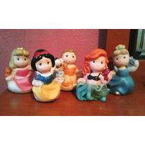 Alcancias Disney Aurora Bca Nieves Ariel Bella Y Cenicienta