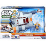 Vehiculo Starwars 2014 Playskool Jedi Force Deluxe Snowspeed