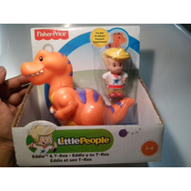 Juguetiness Eddie Y Su T-rex Little People Fisher Price