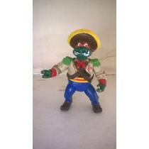 Tmnt Tortugas Ninja Bandito Bashin Mike 1992 Vintage.
