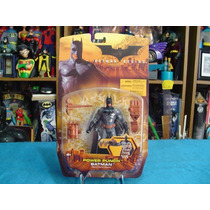Batman Begins Power Punch 2005 Mattel Nuevo Sellado 15 Cm