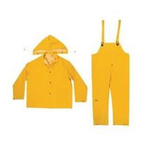 Clc Lluvia Lleve R101l .35mm 3 Piezas Lluvia Traje Amarillo