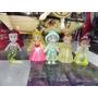 Coleccion De 5 Mini Figuras De Princesas De Disney