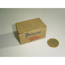 Vintage Juego De Mesa Mini Dominó Victoria Completo
