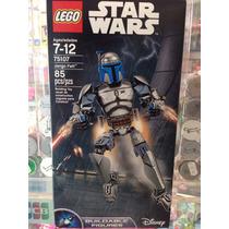 Jango Fett Star Wars Figura Para Armar Lego 75107