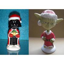Star-wars Darth Vader Y Yoda Cabezones Navideños Mask Gi.joe
